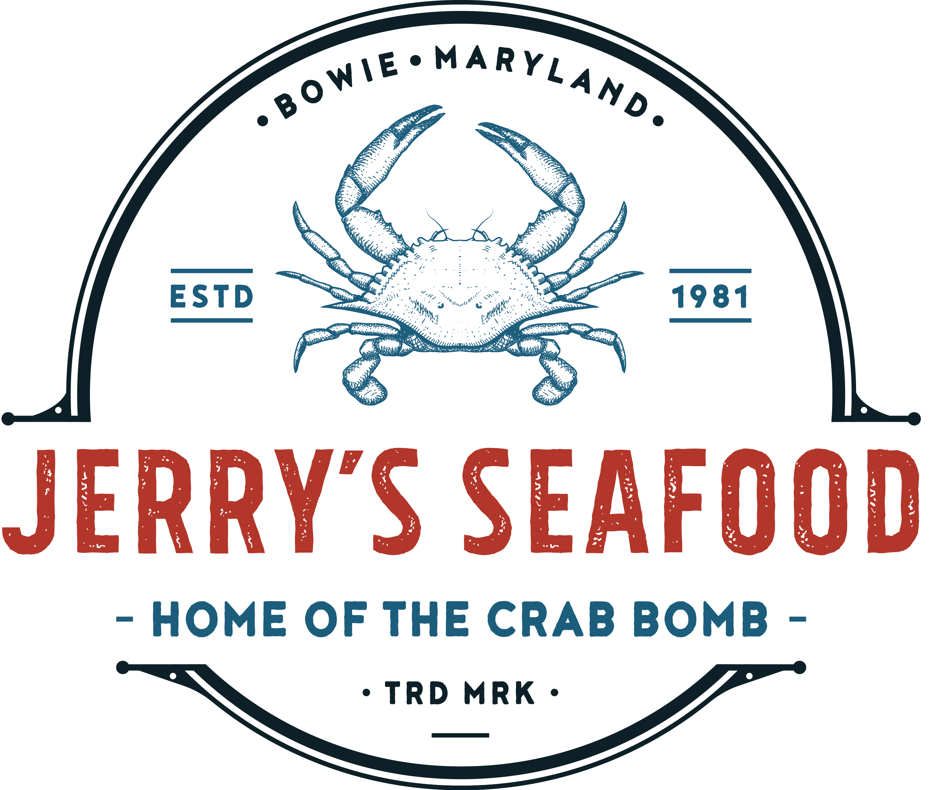 Jerrys Seafood Home Of The Crab Bomb Bowie Md
